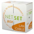 CAT 5e Shielded Cable: NETSET BOX FTP 5e [305m], outdoor